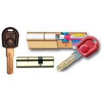 "Цилиндровый механизм ""Master lock"" 33.37 ключ-ключ"